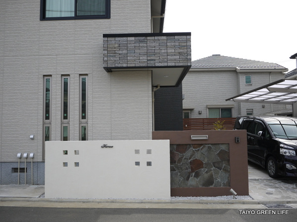 真っ白なテラスでリゾート感 横浜市
